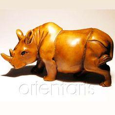 Rhino Netsuke