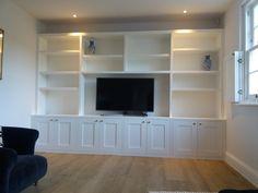 Alcove Cabinets, Alcoves, Shelving, Living Room, Furniture, Home Decor, Shelves, Decoration Home, Room Decor