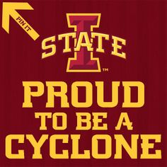 Repin to show your Cyclone Pride!
