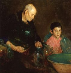 Charles Webster Hawthorne - Refining Oil