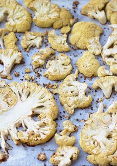 Oven-Roasted Cauliflower | TLT - The Little Things - love, love, love these!!!!  However!  I have yet to be NOT frustrated to death while slowing them. The knife Must be very sharp. I even sharpen midway!!