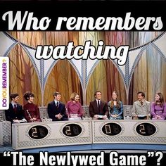 The Newlywed Game original) then ran periodically through 2013 Game Show My Childhood Memories, Sweet Memories, Baby Boomer, Old Shows, I Remember When, Thats The Way, Ol Days, Old Tv, Classic Tv