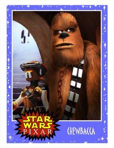 Star wars x pixar