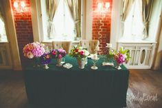 оформление стола молодожен #wedding