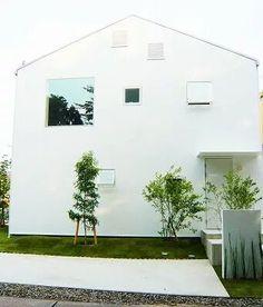 白い家の外構 のアイデア 7 件 白い家 外構 家