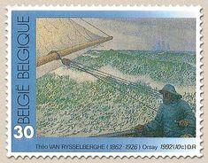 Belgium, 'De Man aan roer' - Theo Rysselberghe, 1862-1926; 1992