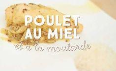 Poulet au miel et à la moutarde, riz et petits légumes | Cuisine AZ
