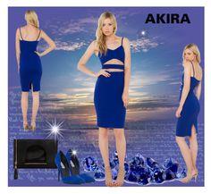 """Akira"" by mujkic-merima ❤ liked on Polyvore featuring bleu, Akira, Nila Anthony, Steve Madden, polyvorecommunity, polyvoreeditorial, shopakira and PolyvoreMostStylish"
