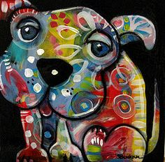Susan Buckner -12 x 12 acrylic on wood.