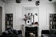 my scandinavian home: An elegant Paris apartment