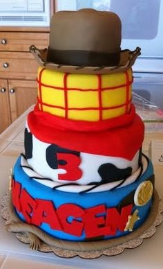 I love cake making, think this would be super cool/not too much hard work to make for Sebastian when he's about 3/4 x