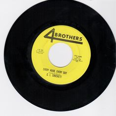 G. L. CROCKETT - Every Hour Every Day (4 BROTHERS 445) Vinyl   Music