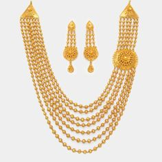 Product - WHPS399.007 | GoldNecklaceSet | NecklaceSet | Gold | Jewellery