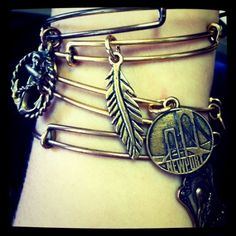 Check out Alex & Ani jewelry on Bowen's Wharf, Newport