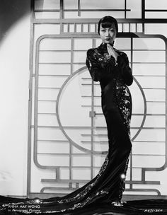 Anna May Wong in Limehouse Blues (directed by Alexander Hall), 1934 Costume by Travis Banton (American, 1894-1958), Courtesy of John Kobal Foundation / Getty Images.