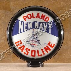 15 Inch Limited Edition Gas Pump Globes - Vic's 66 - Gas Pump Parts, Globes and Memorabilia