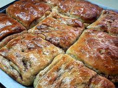 משמנה / משימנה - מאפה סוכר וקינמון מהמטבח המרוקאי (Msemmne)