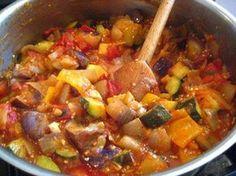 Saute Porc, Couscous, The Dish, Ratatouille, Bon Appetit, Kids Meals, Love Food, Pork, Food And Drink
