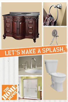 Decor and DIY Friends - I just shared and discovered my bathroom design preferences for a chance to win $2,500 this week from The Home Depot! http://www.homedepotletsmakeasplash.com #LetsDoThis