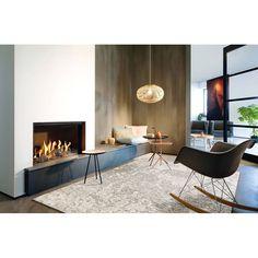 Modern fireplace wall ideas modern fireplace design ideas decoration modern fireplace design ideas for a cozy Home Fireplace, Modern Fireplace, Living Room With Fireplace, Fireplace Design, Fireplace Mantels, Carpet Decor, Living Room Accents, Paint Colors For Living Room, Room Decor