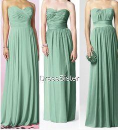 Bridesmaid Dresses  Mint Bridesmaid Dress / Green by DressSister