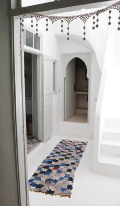 House in Essaouira, Morocco House Design, Moroccan Interiors, House, Bohemian Interior, Interior, Decor Design, Doorway Decor, House Interior, Moroccan Design