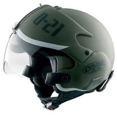 Fighter pilot style motorbike helmet / Tornado jet motorcycle helmet.  From OSBE , Italy.  #gifts  #men