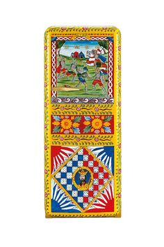 Dolce & Gabbana has created 100 limited edition hand painted Smeg fridges available for £30,000 each - they worked with Sicilian artists to create the fridges which are painted with Provincial symbols & historical Medieval scenes - each one takes 240 hours of workmanship to produce...x
