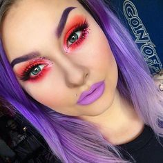 @Alyssamarieartistry looking too gorgeous in the new #sugarpill Heiress eyelashes!