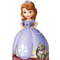 Add this Sofia the First Standee to your next princess party or special event. Girls will love posing with Sofia and Clover.