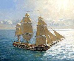 HMS Surprise by Geoff Hunt