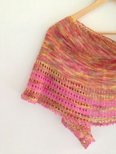 Free Patter #12 Peek A Boo Bay Shawl