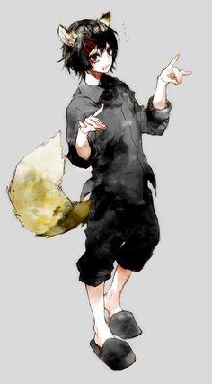 ぐるり16話の扉絵で狐の手してるジュゾくんがかわいかったので…!(もちろんはんべさんも可愛かったんですが!ログアウトさせてすまぬ…