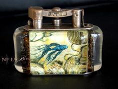 dunhill aquarium lighter