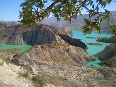Jam Gardelan (Ilam) Dam in Ilam province, Iran(in Persian: سد چم گردلان-ایلام) Photo by Ali Karami