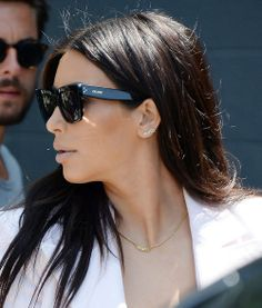 Kim's north earring