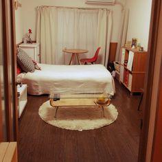 1K/9畳/一人暮らし/部屋全体のインテリア実例 - 2014-04-01 21:31:29   RoomClip(ルームクリップ)