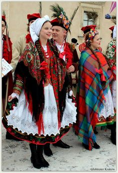 Traditional costumes  -  Poland