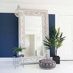 Ibiza Free Standing Floor Mirror   Luxury Mirror