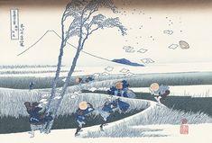 駿州江尻|葛飾北斎|富嶽三十六景|浮世絵のアダチ版画オンラインストア