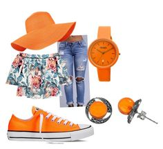 """""""its summer time"""" by pound2lafreek on Polyvore featuring Elizabeth and James, Accessorize, Converse, Crayo and Goldmajor"""