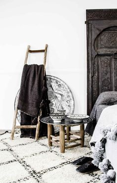 ♡ Moroccan styling by Paulina Arcklin #beni #bedroom