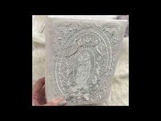 Book clutch machine embroidery  / Машинная вышивка / клатч-книга - YouTube