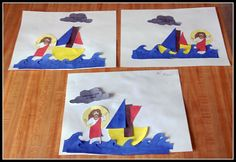 Jesus Walks on the Water - Story, Song, Craft and Snack