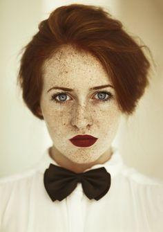 портретная фотография - Неспящие в Торонто Наталья Калинина - Моя рыжая