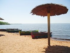 Playa en Aregua, Paraguay