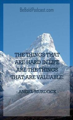 angel murdock be bold
