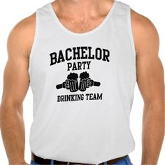 Bachelor Party Drinking Team Tanktops Tank Tops