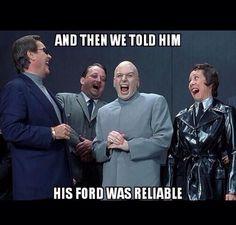 Powerstroke jokes. Chevy love. Hate fords.