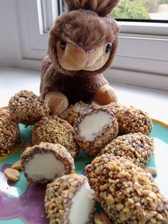 peanut rolled eggs from @Cindy's Recipes and Writings